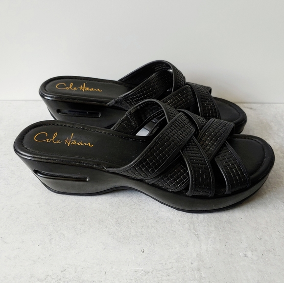 leather nike sandals